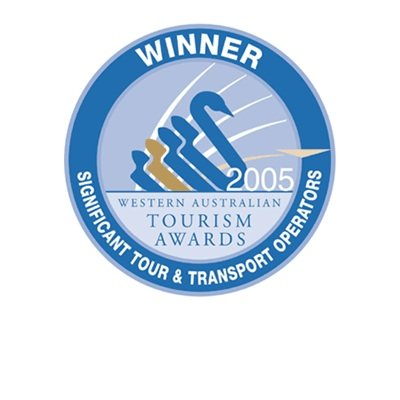 Western Australian Tourism Awards 2005 Winner Significant Tour and Transport Operators