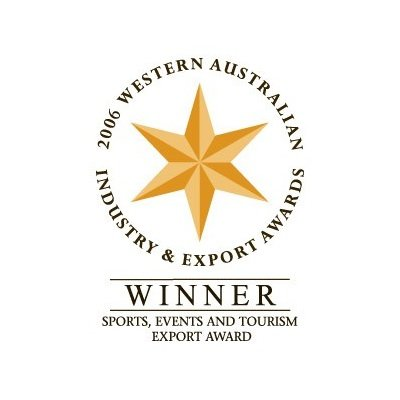 Western Australian Industry and Export Awards 2006 Winner Sports, Events and Tourism Export Award