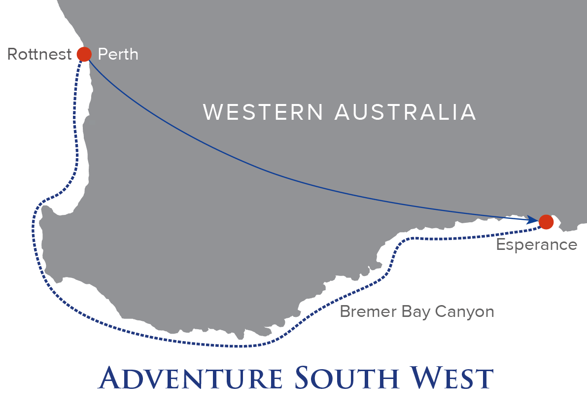 Adventure South West Map