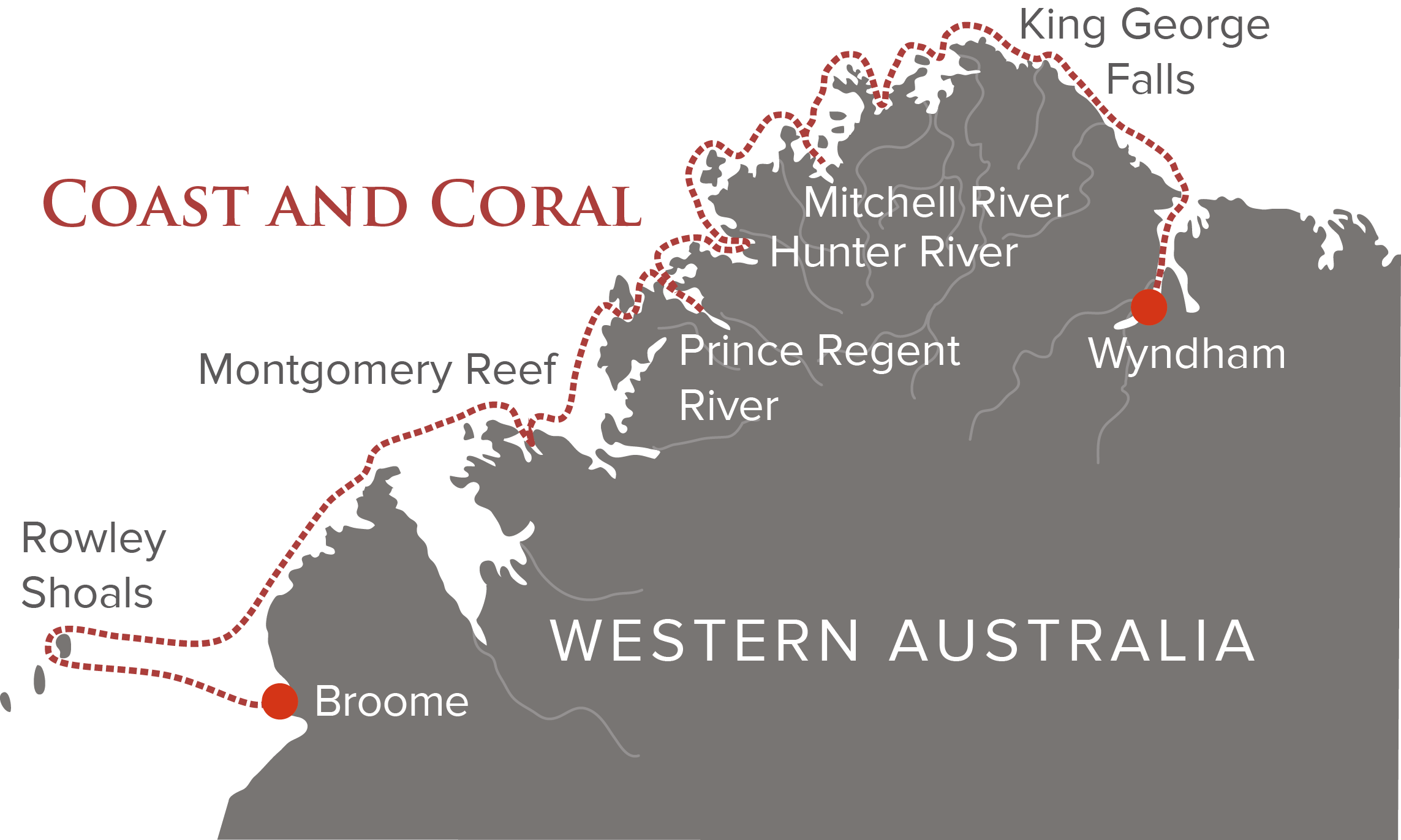 Coast and Coral Map