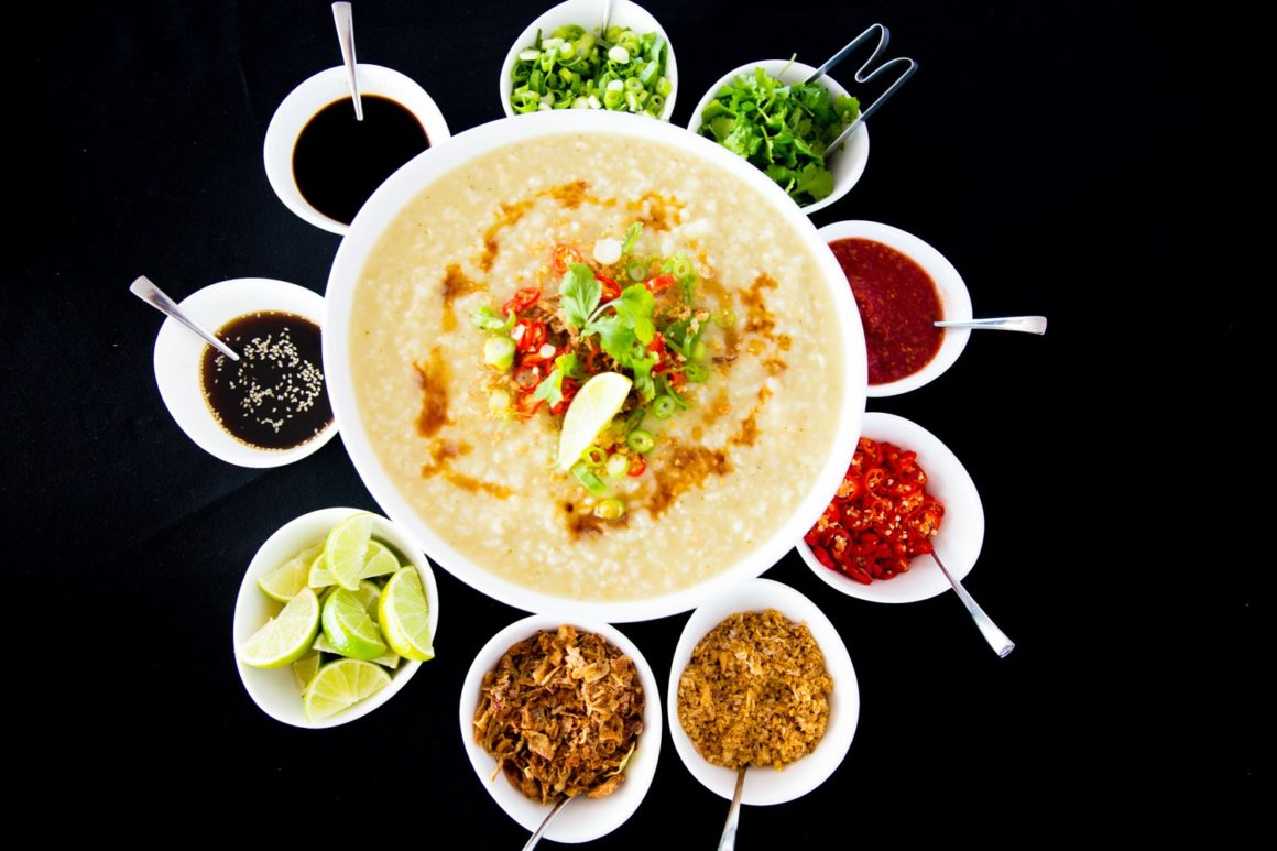 Cruise Line Food - Congee From Above
