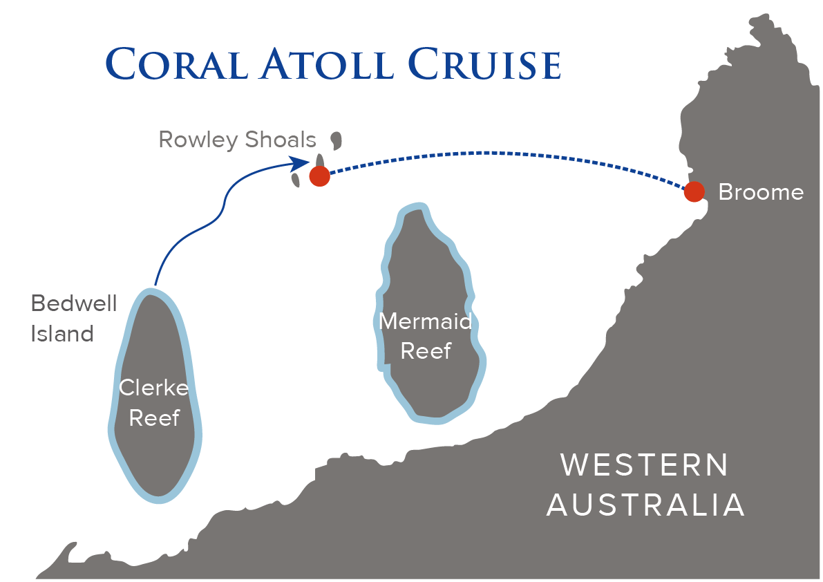 Coral Atoll Cruise Map