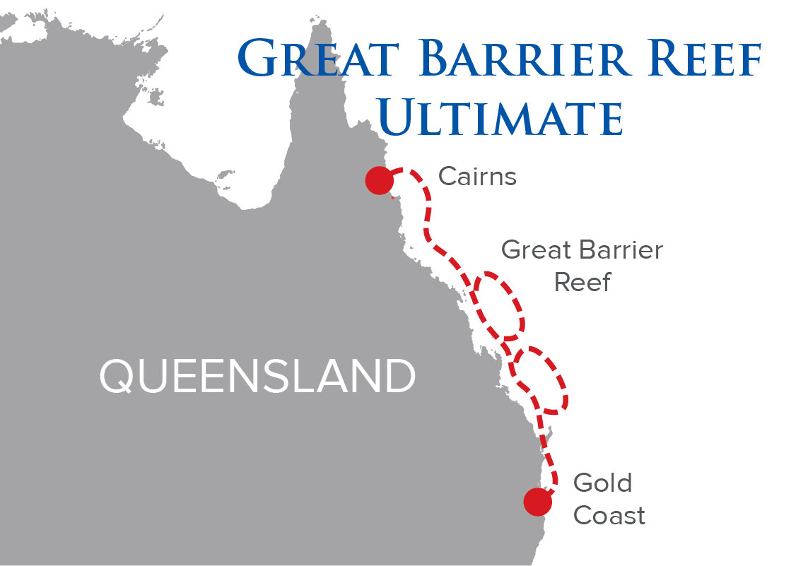 Great Barrier Reef Ultimate map