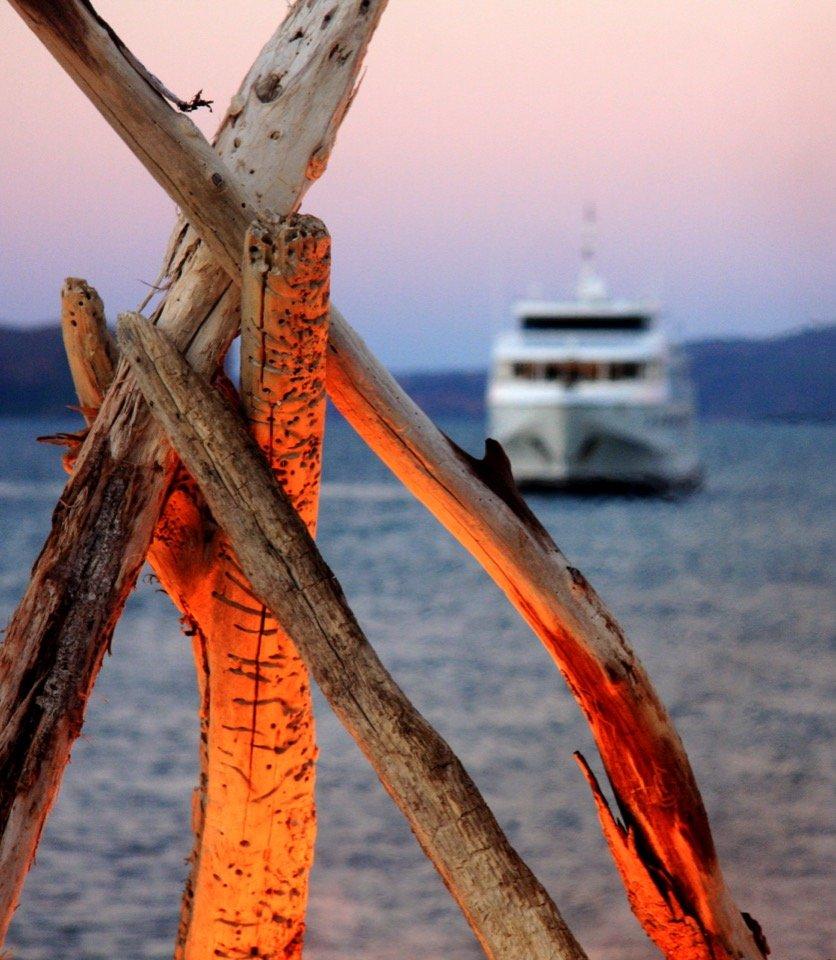 Kimberley Beach Campfire