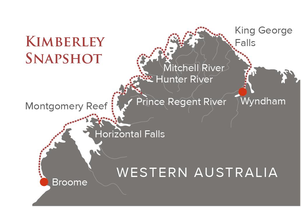 Kimberley Snapshot Map