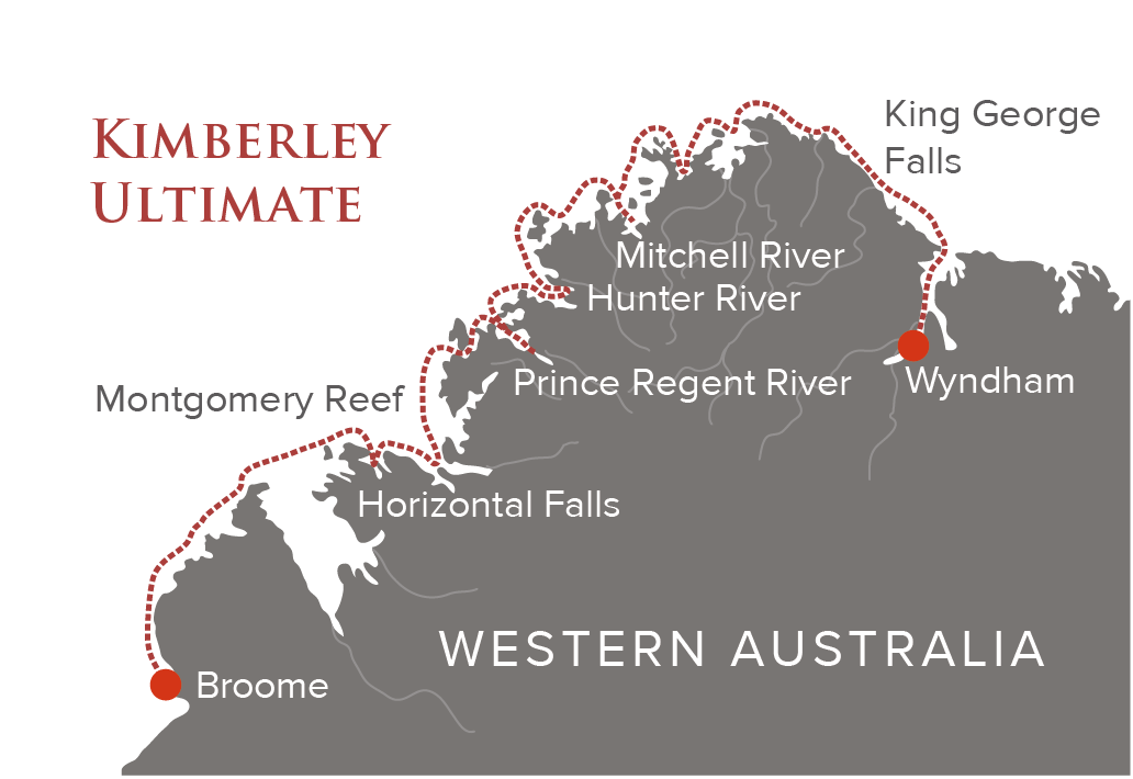 Kimberley Ultimate Map