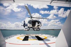 Kimberley Helicopter Takeoff