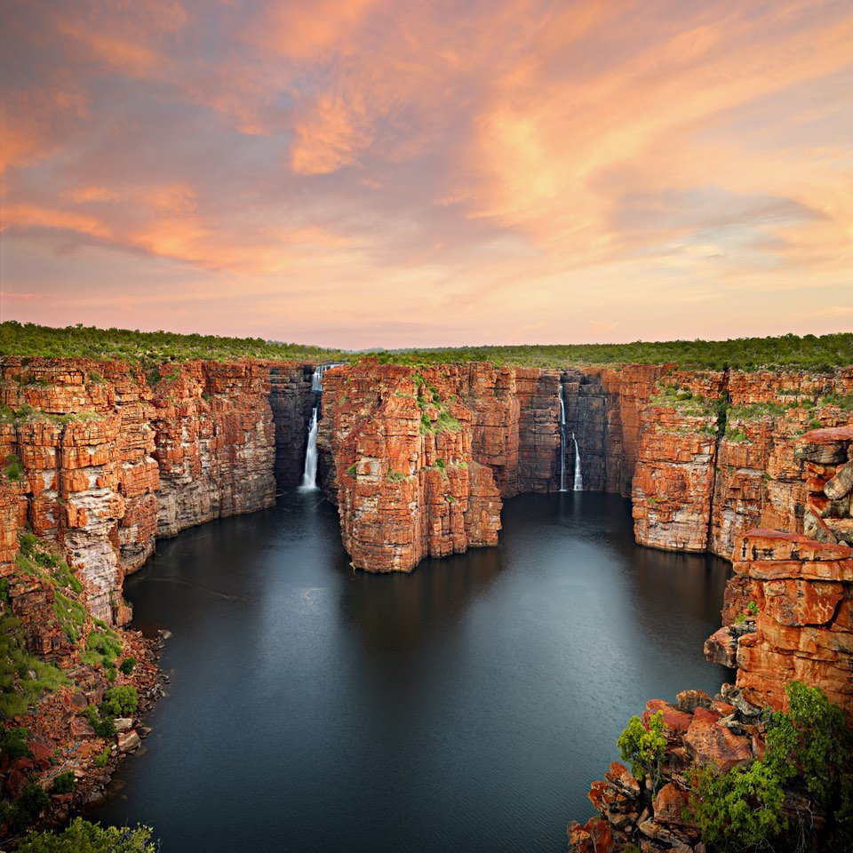 King George Falls Sunset - Christian Fletcher