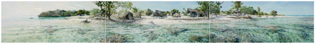 Larry Mitchell - Eroding Island