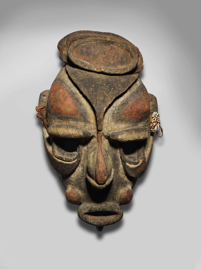 Mask, East Sepik Province, courtesy National Gallery Australia