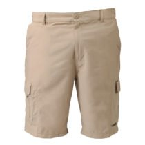 Mens Husky Shorts Bone Front