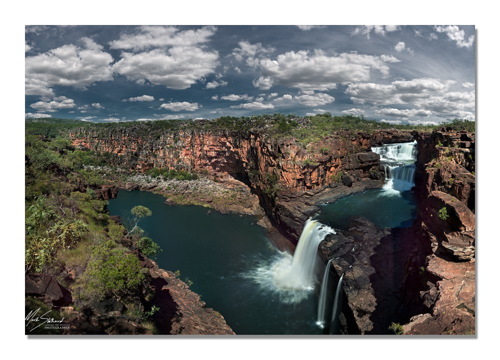 Mitchell Falls Panorama Mark Stothard