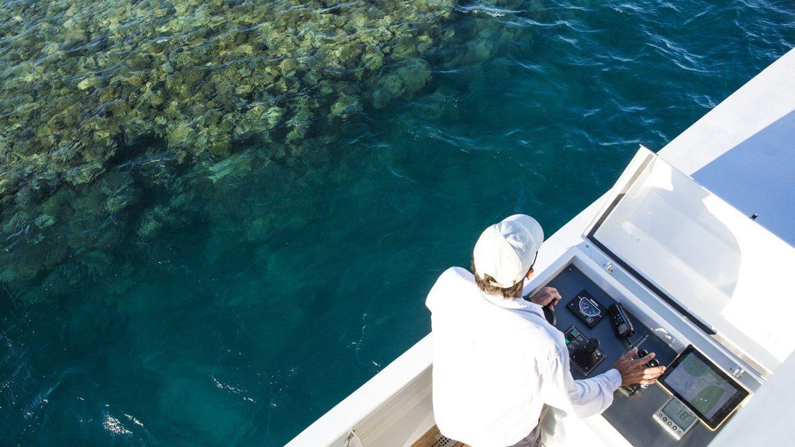 true north crew exploring the rowley shoals