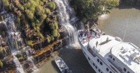kimberley shower True North Cruise