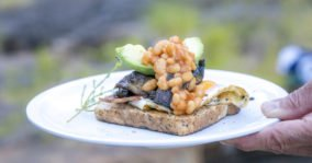 Bush tucker fit for king and queen