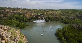 Kimberley Cruise Ship River