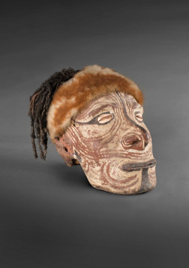 Overmodelled Skull, East-Sepik Province, courtesy National Gallery Australia