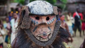 Sepik River - Mask