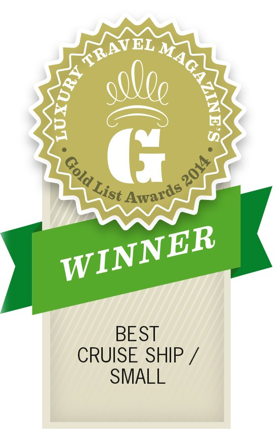 Gold List Awards 2014 Best Luxury Cruise Ship Small