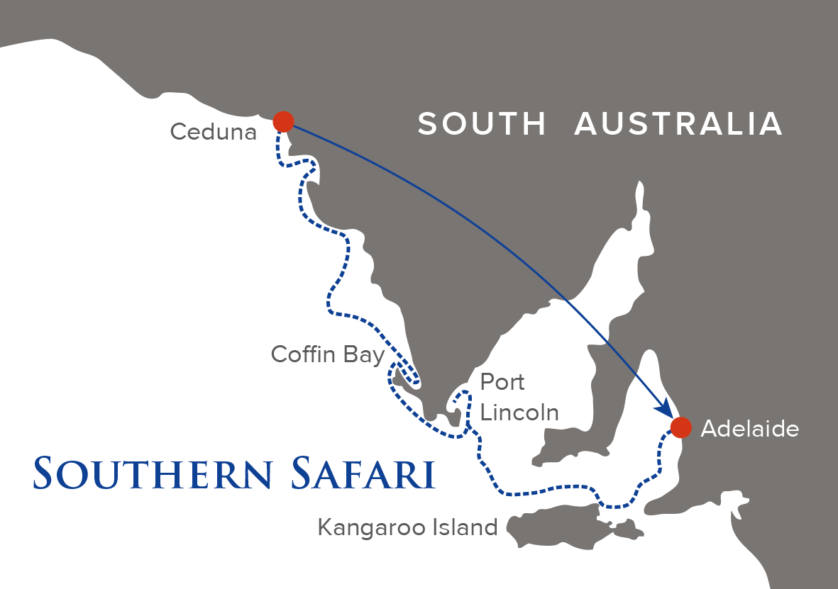 Southern Safari Map