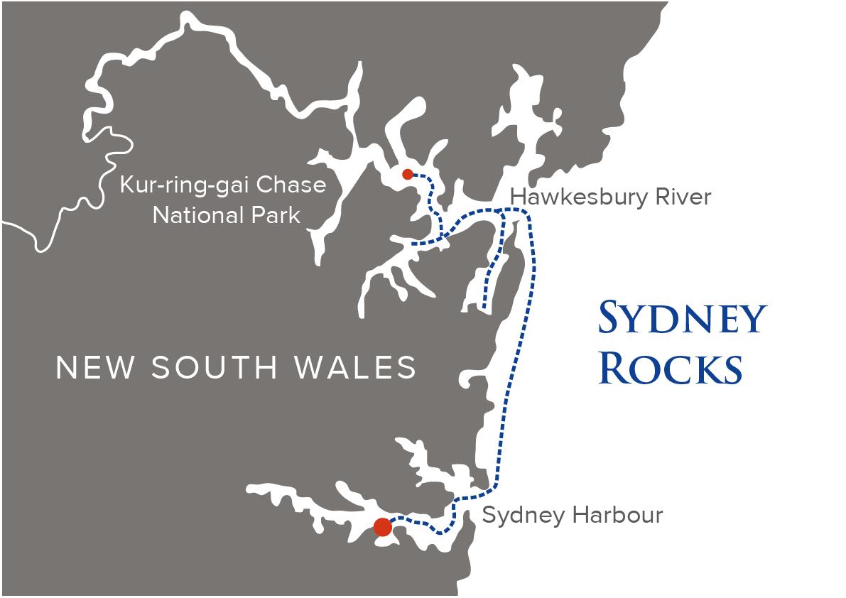 Sydney Rocks Map