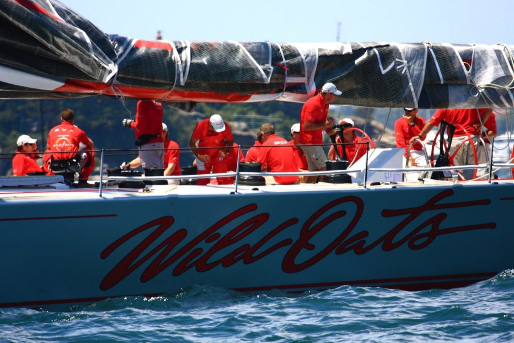 Sydney To Hobart Race Contestant Wild Oats