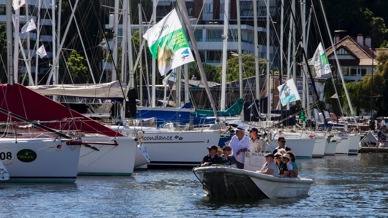 Sydney To Hobart Race Start True North Tender