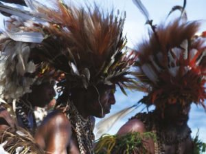 Feathered Headress - East Papua New Guinea