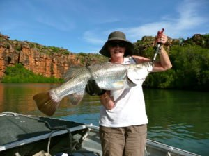 True North_Kimberley Wilderness Cruise_Barra for dinner