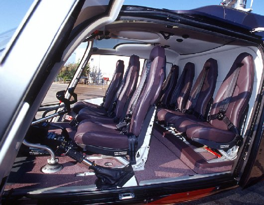 True North Helicopter Seating Configuration