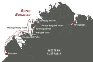 Barra Bonanza Map