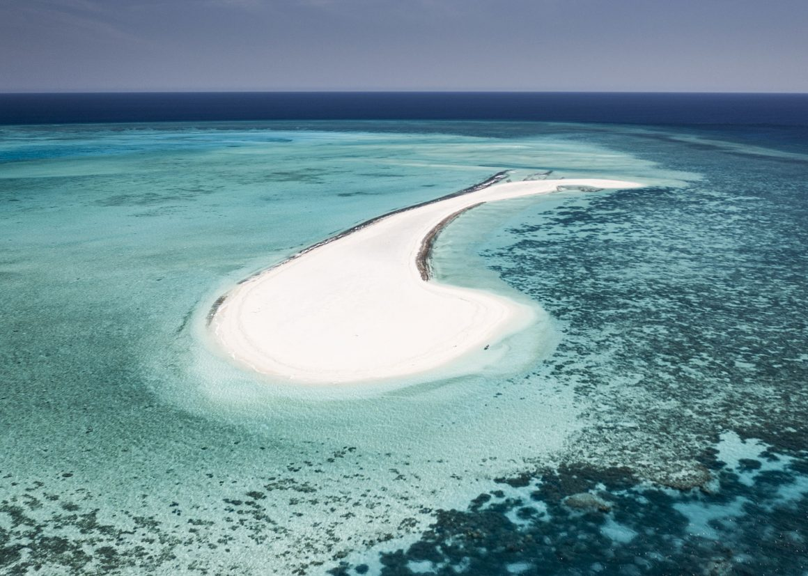 rowley shoals white sand