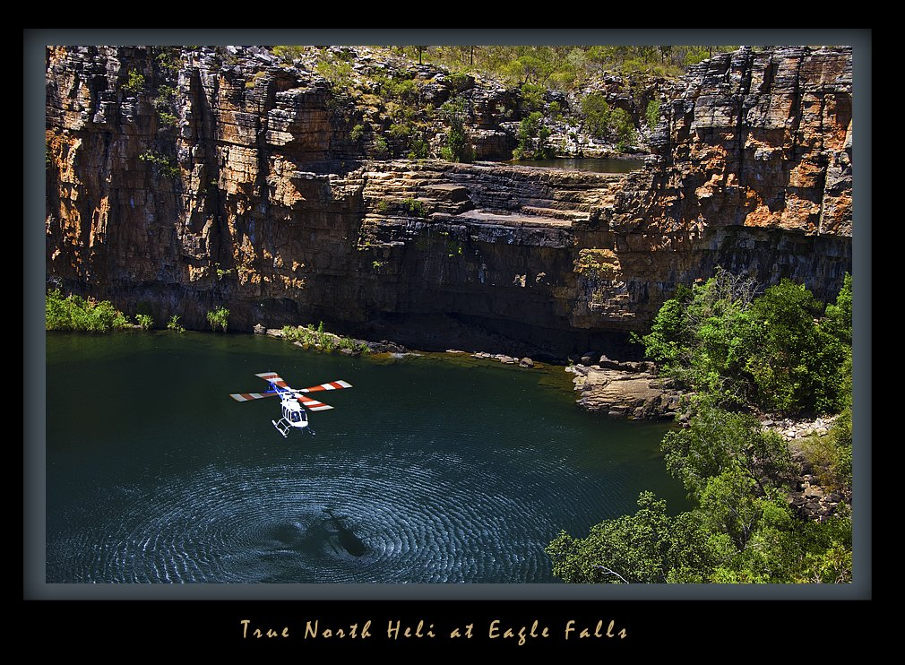 True North Heli at Eagle Falls - Mark Stothard